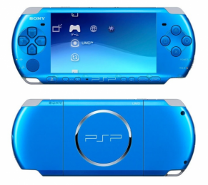 Pays du Soleil Levant: Sony lance la PSP bleue 