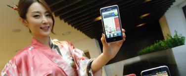 Pays du Soleil levant: LG: 1er smartphone HD LTE avec le L-01D