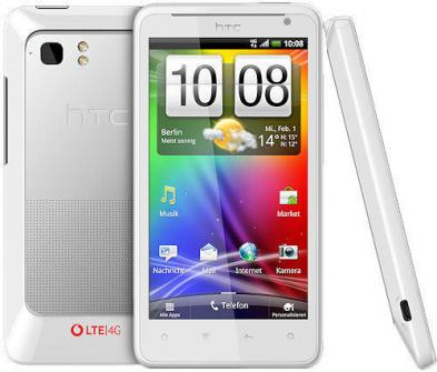 HTC Velocity : premier smartphone 4G sous Android en Europe