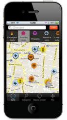 iPhone et iPad: application de localisation