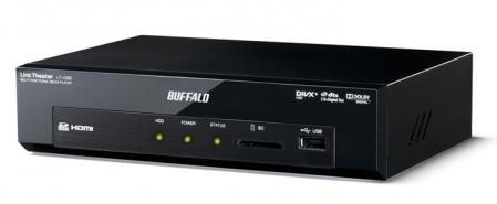 Buffalo: Remote Play, DivXHD, FLAC et Basic NAS dans son Link Theater