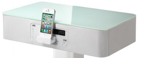 JVC: chevet pour iPhone et iPod