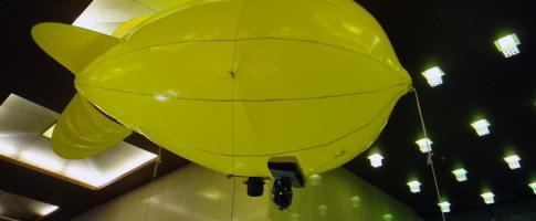 NHK: Balloon Camera pour la prise d�images a�riennes stable