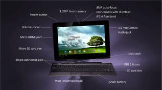 Asus: Android 4.0 Transformer Prime