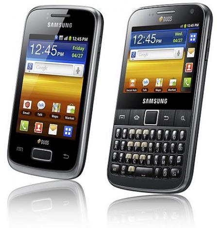 Samsung Galaxy Y DUOS et Galaxy Y Pro DUOS