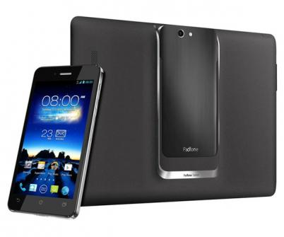 Asus PadFone Infinity: Phablet 5″ dans Tablette 10″ Android 4.2