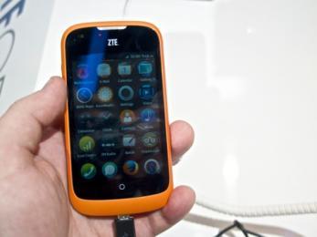 Prise en main du ZTE Open sous Firefox OS