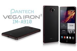 Pantech Vega Iron 2: 1er Smartphone avec Snapdragon 805 (Photos)