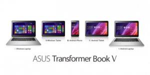 Asus Transformer Book V : le 5en1 ordinateur tablette et smartphone sous Android et Windows