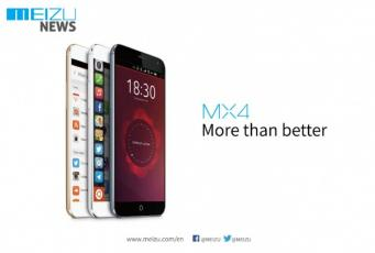 Meizu MX4 sous Ubuntu pour le MWC.
